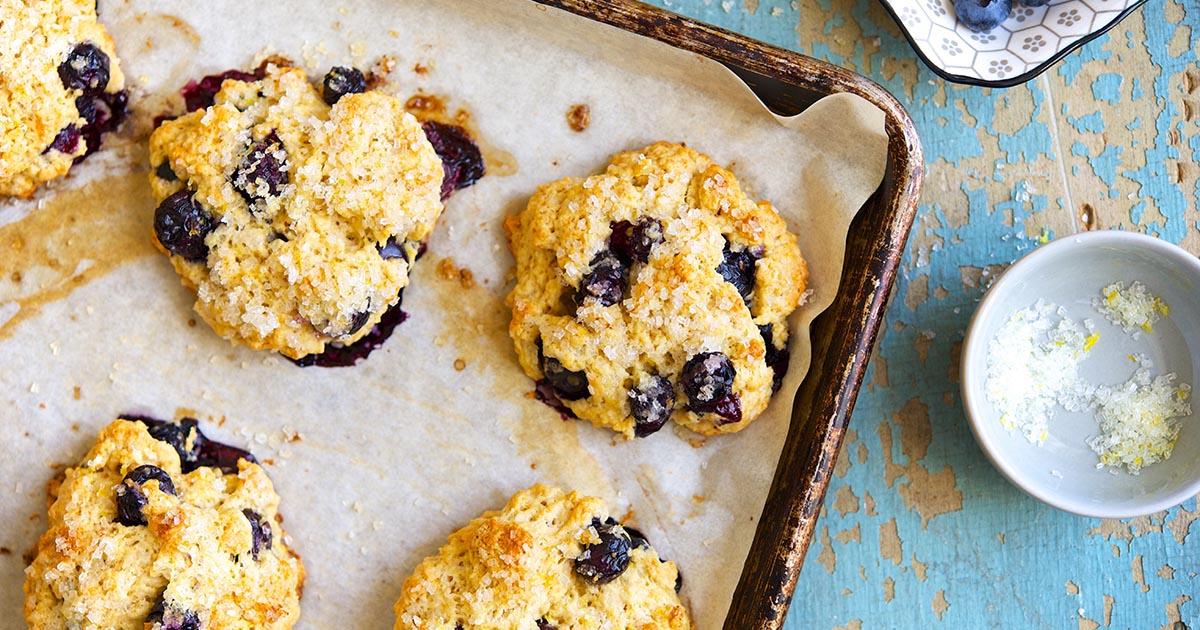 Blueberry Scones Recipe | King Arthur Flour