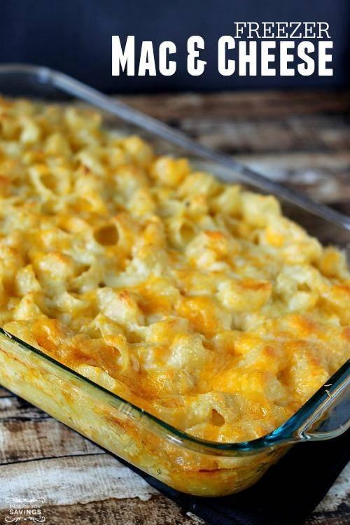 Freezer Mac and cheese