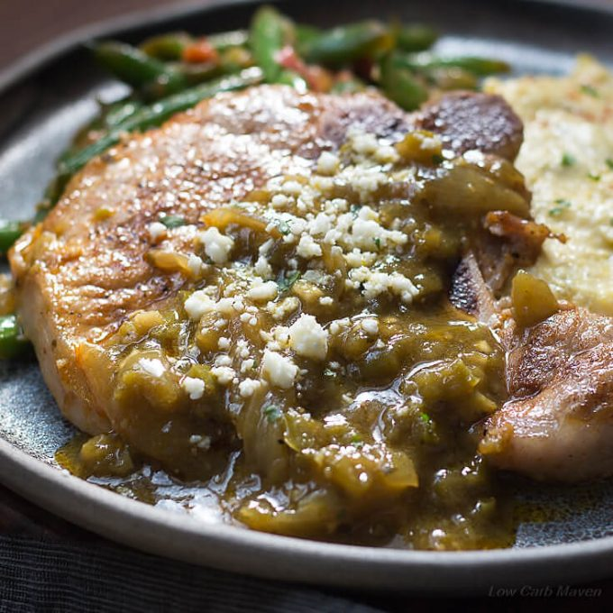 Mexican Pork Chops Recipe With Chile Verde Sauce