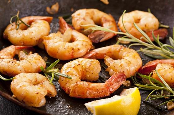 Shrimp With Paprika And Garlic
