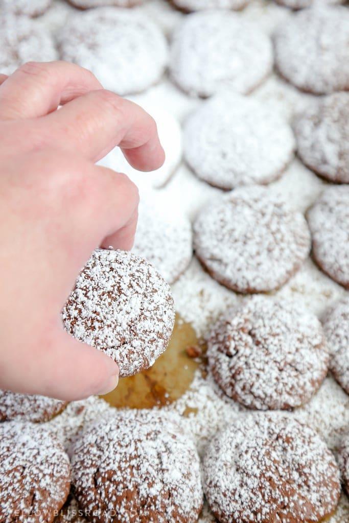 Cookies: Chocolate Cheesecake
