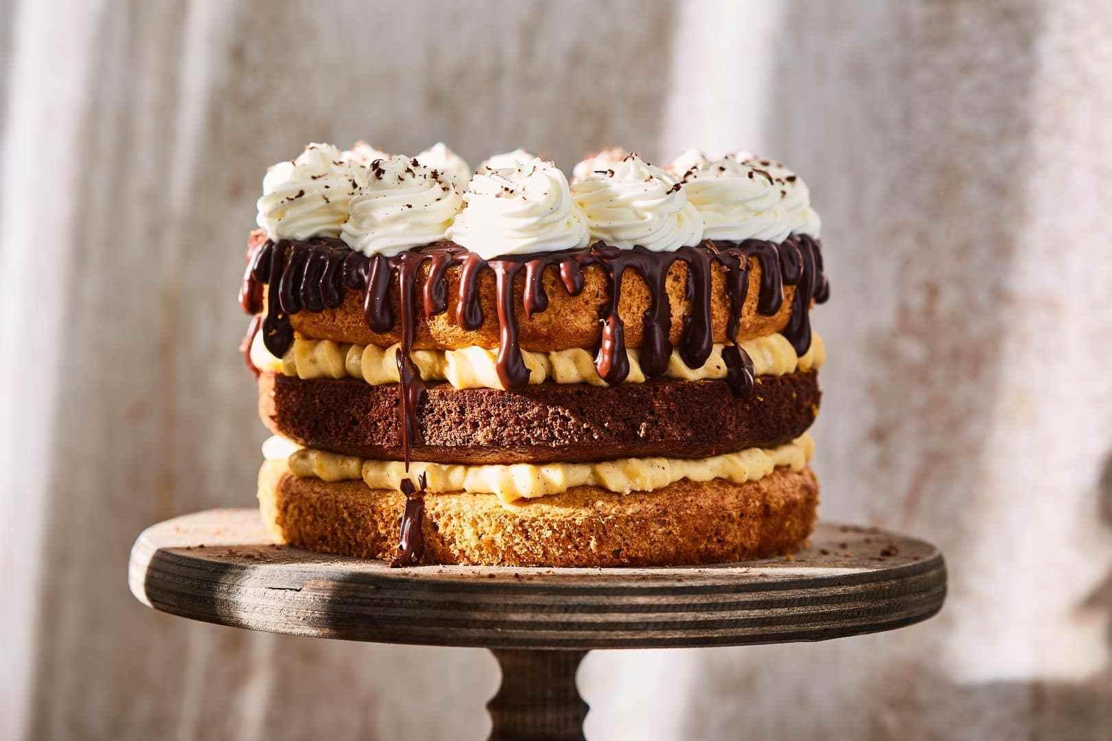 Wow: Somlói Galuska Torta