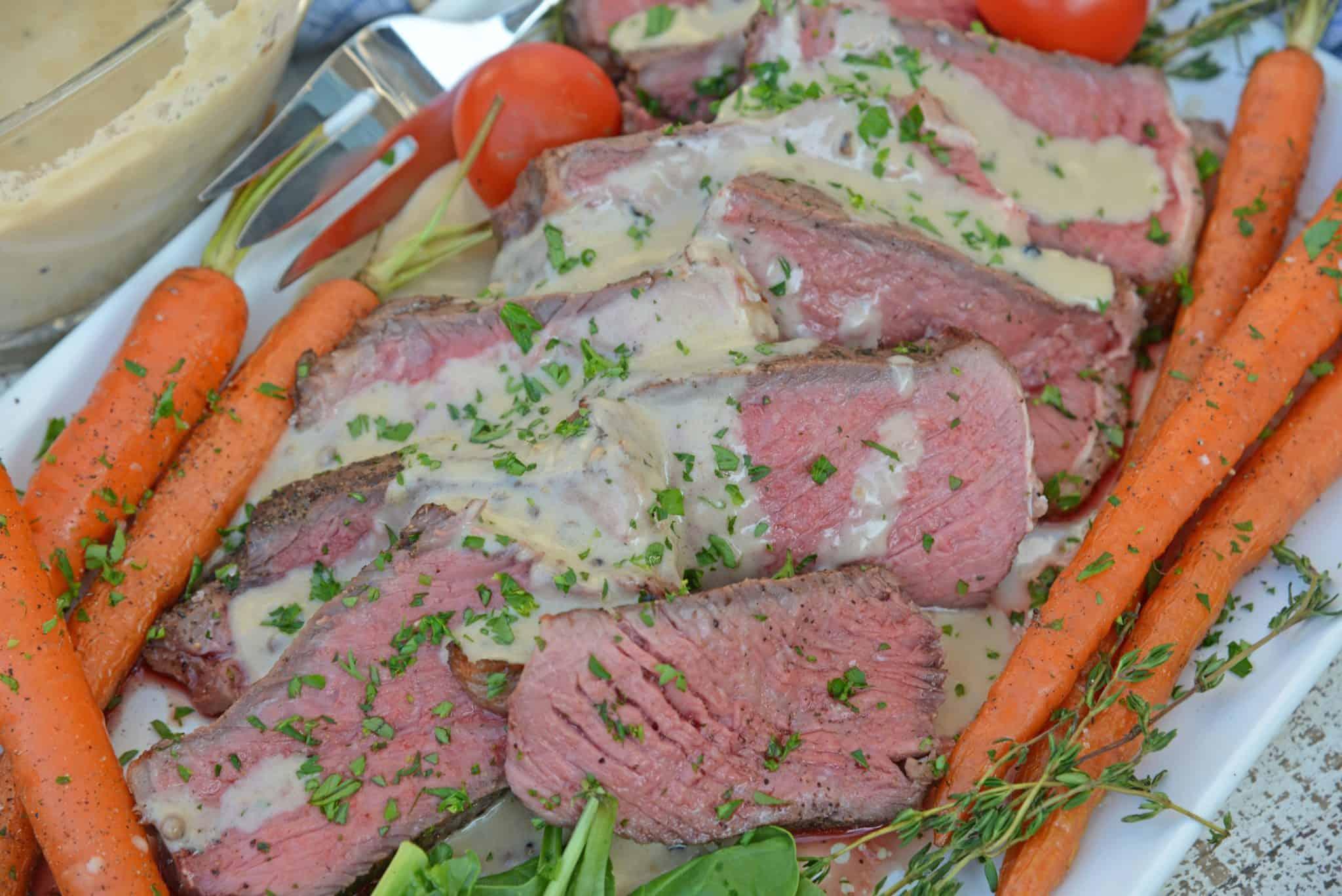 Sous-Vide Steak Au Poivre
