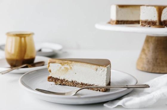 Vegan Caramel Cheesecake