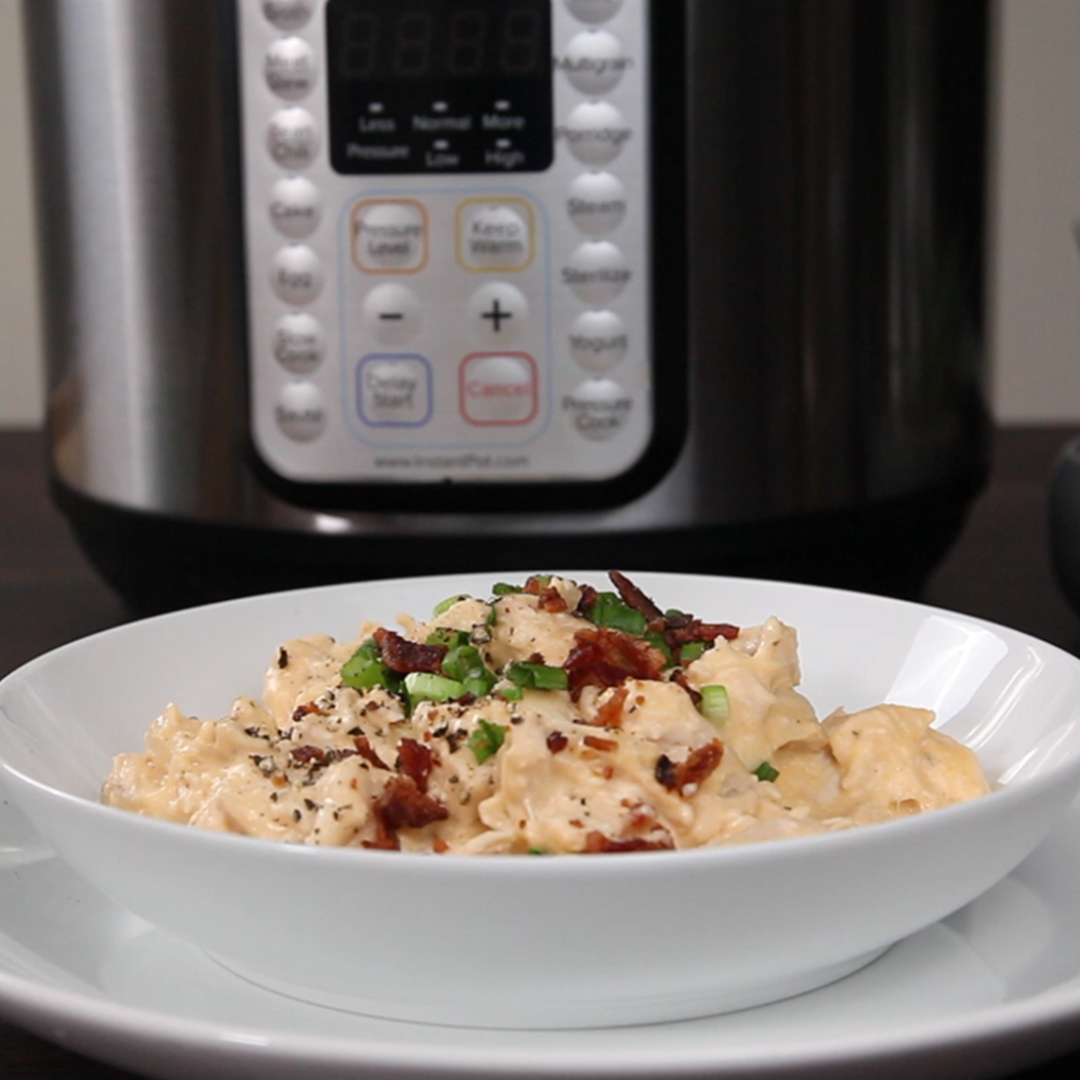 Crack Chicken - The Best Instant Pot Crack Chicken Recipe From The Official Instant Pot Recipes Site