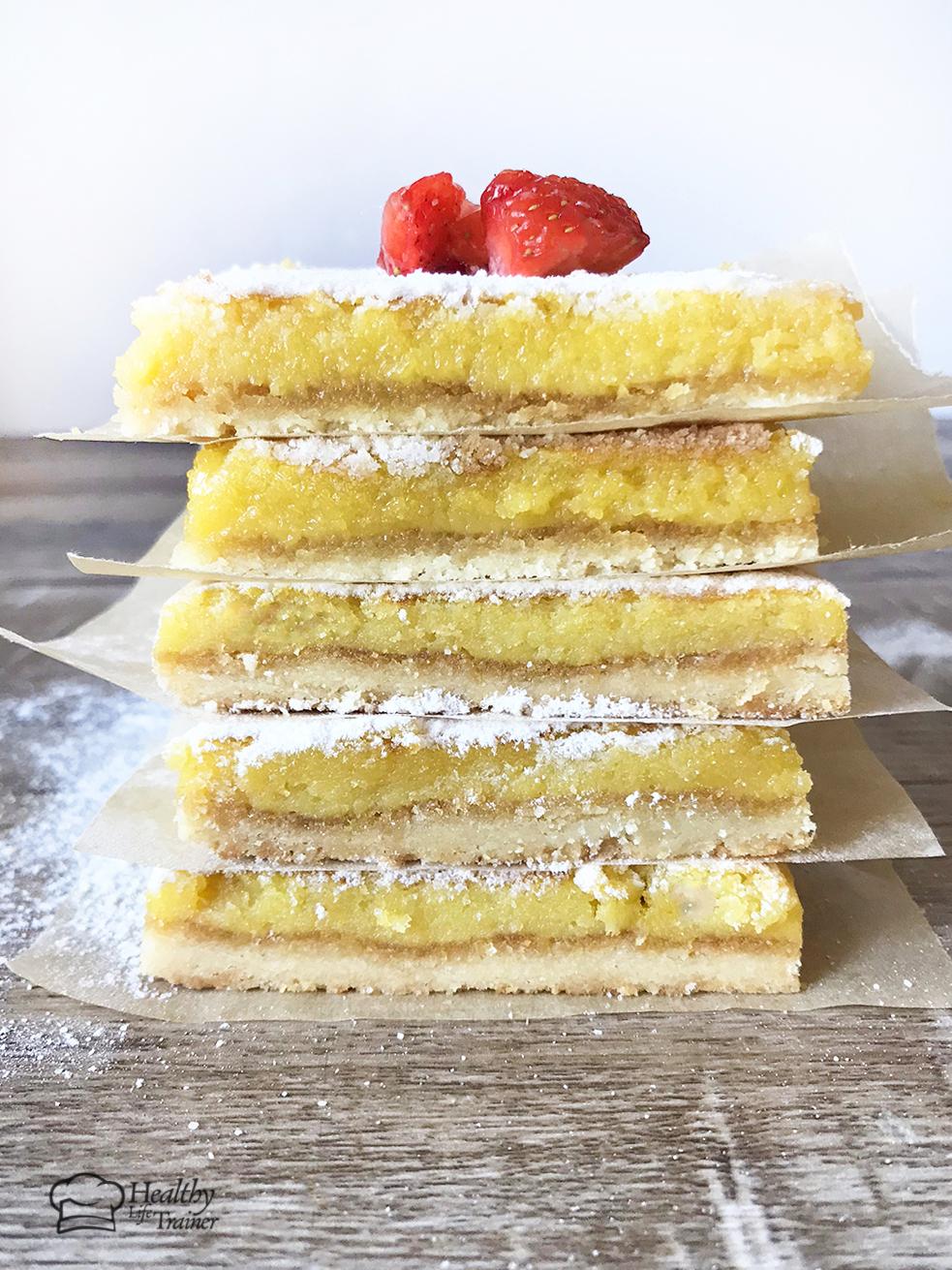 Low Carb Lemon Bars – Keto-Friendly And Sugar-Free