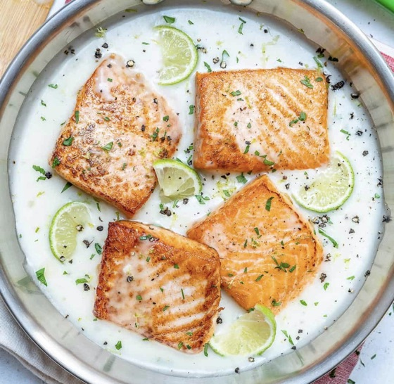 Coconut Lime Salmon