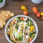 Quinoa Taco Salad Recipe   Quinoa Bowl   One Ingredient Chef