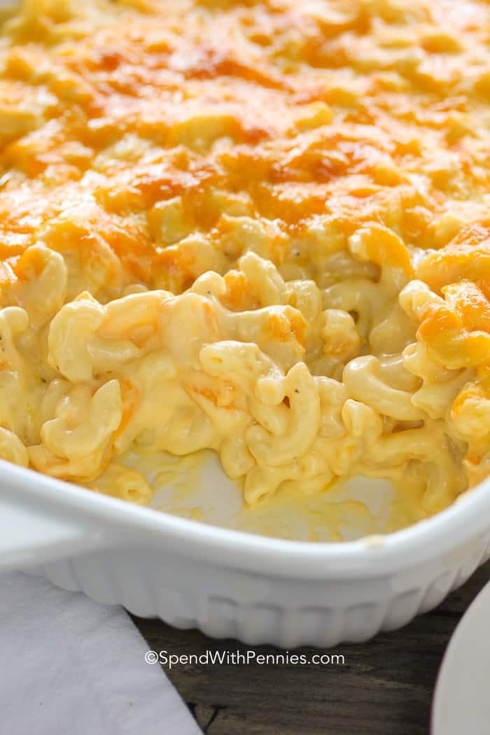 Creamy Macaroni and Cheese Casserole Homemade Macaroni and Cheese Casserole