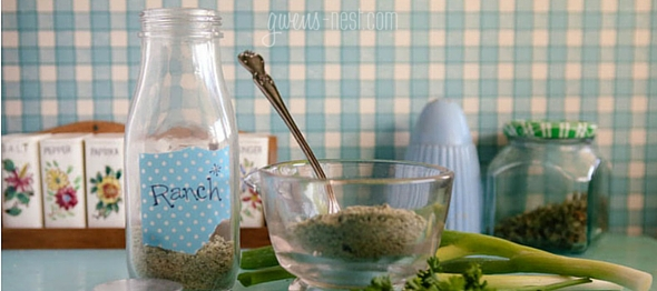 Ranch Dressing Recipe & Mix | Gwen's Nest