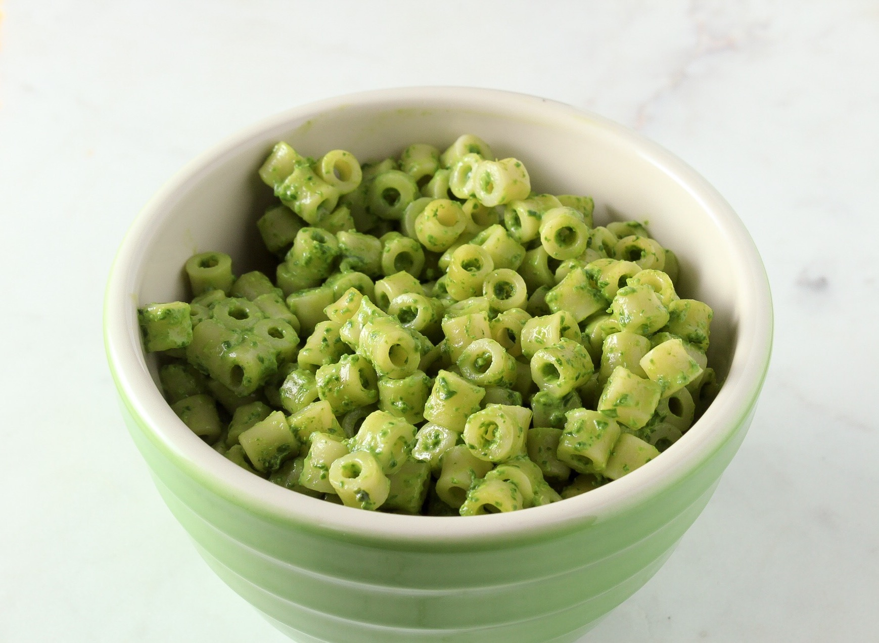 Cheesy Spinach Pasta - Meg's Meal Planning
