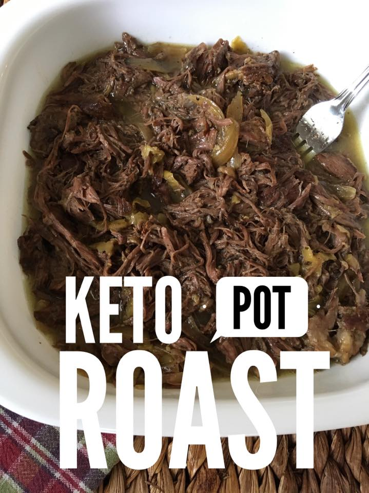 Keto Slow Cooker Pot Roast {Low Carb} - Kasey Trenum