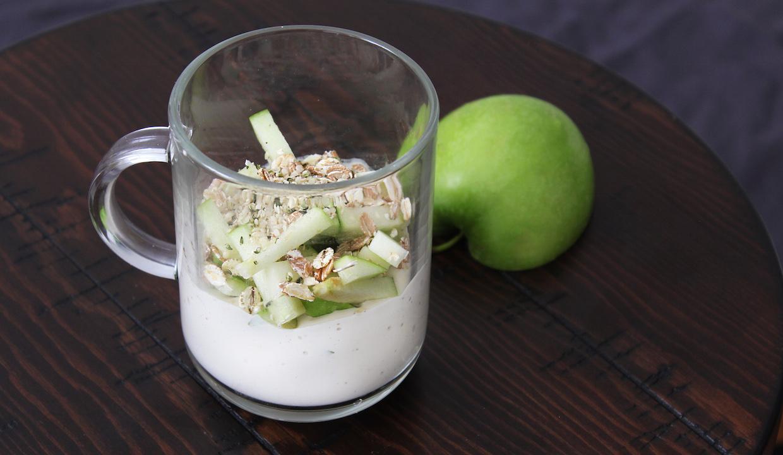 Non-Dairy Apple Parfait Recipe