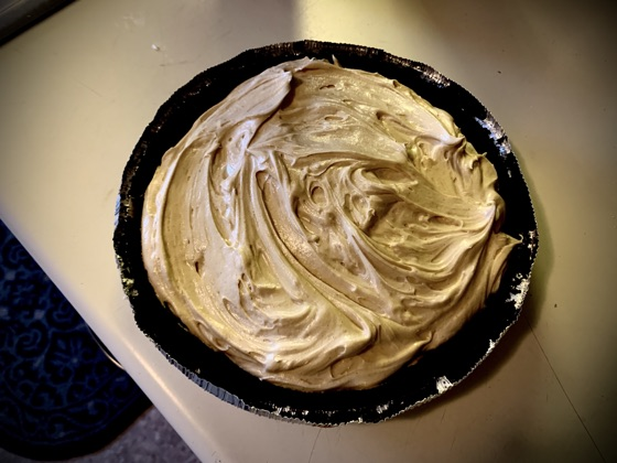 Easy Whipped Peanut Butter Pie
