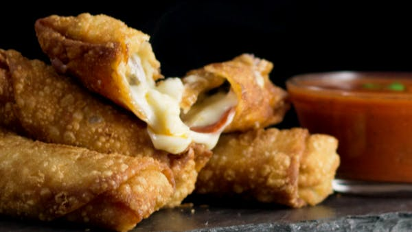Pepperoni Pizza Egg Rolls ~ Hungry Af | Tastemade
