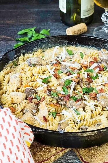 Stove Top Chicken Ricotta Pasta