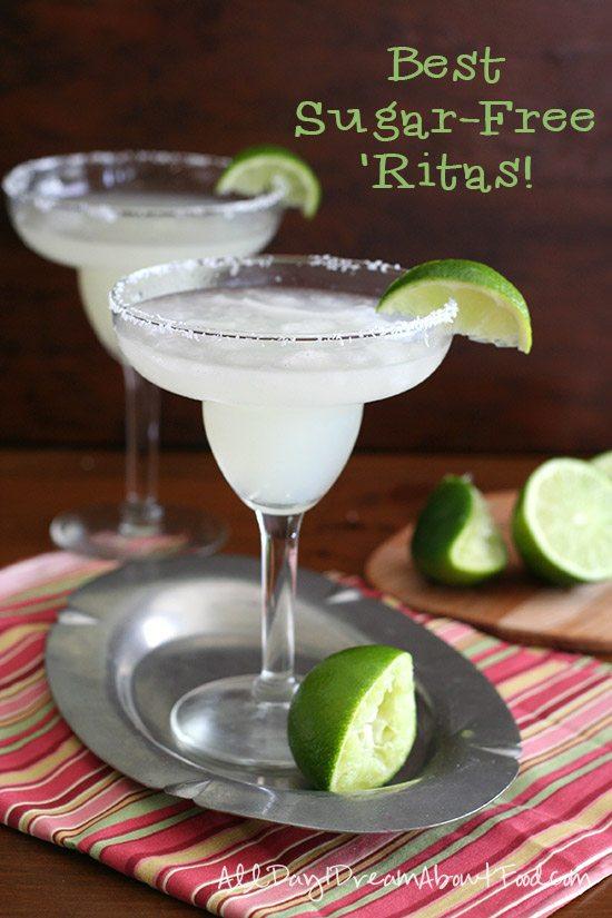 Low Carb Margaritas - Sugar-Free