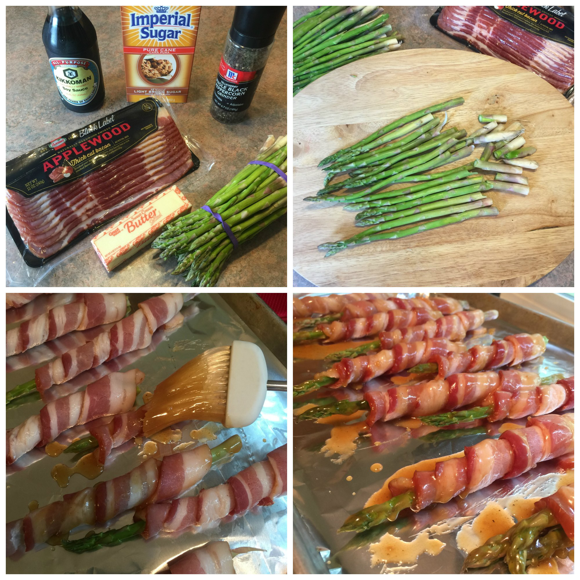 Bacon Wrapped Asparagus That's A Cinch To Make! Appetizer Idea: Bacon Wrapped Asparagus