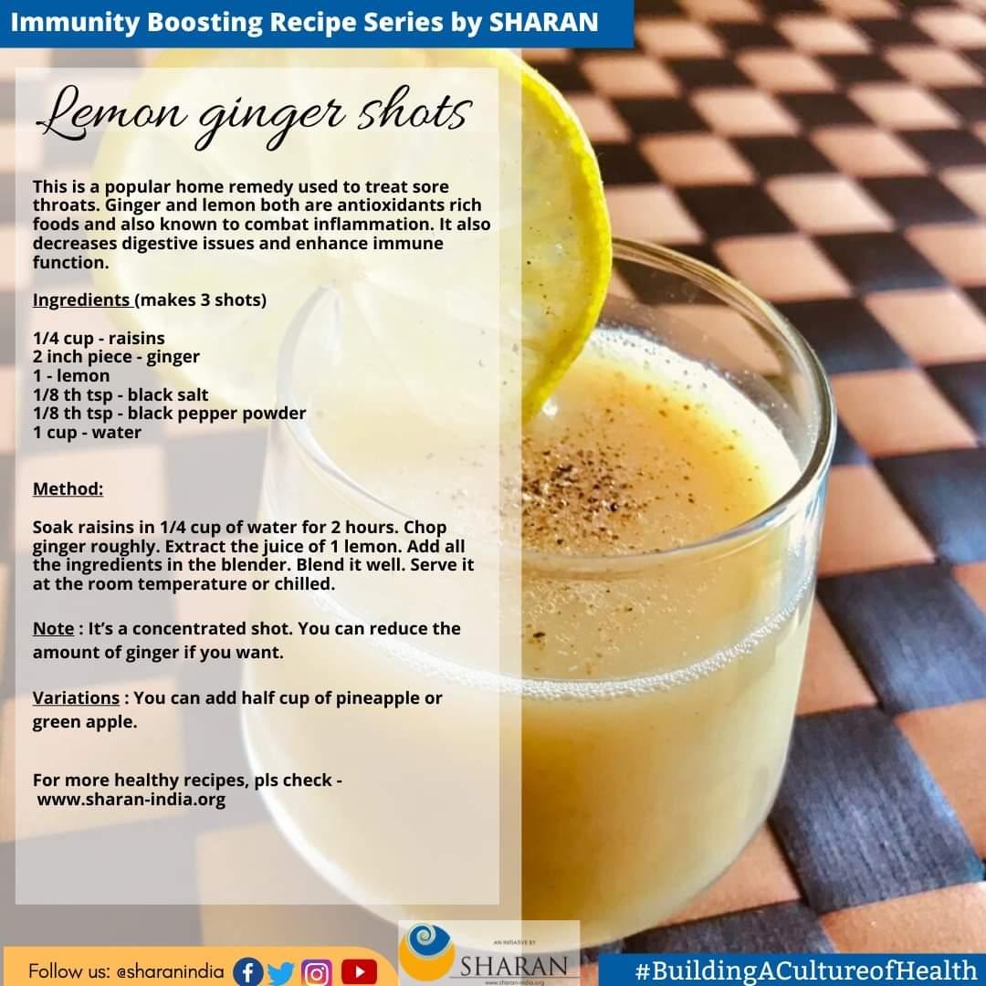 Lemon Ginger Shots