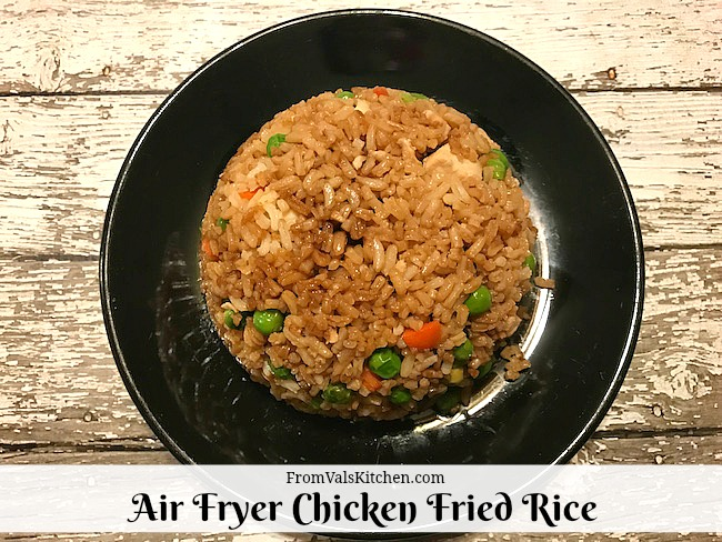 Air Fryer Gluten-free Chicken Fried Rice #Recipe