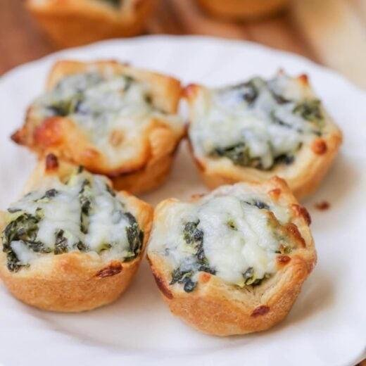 Spinach Dip Bites