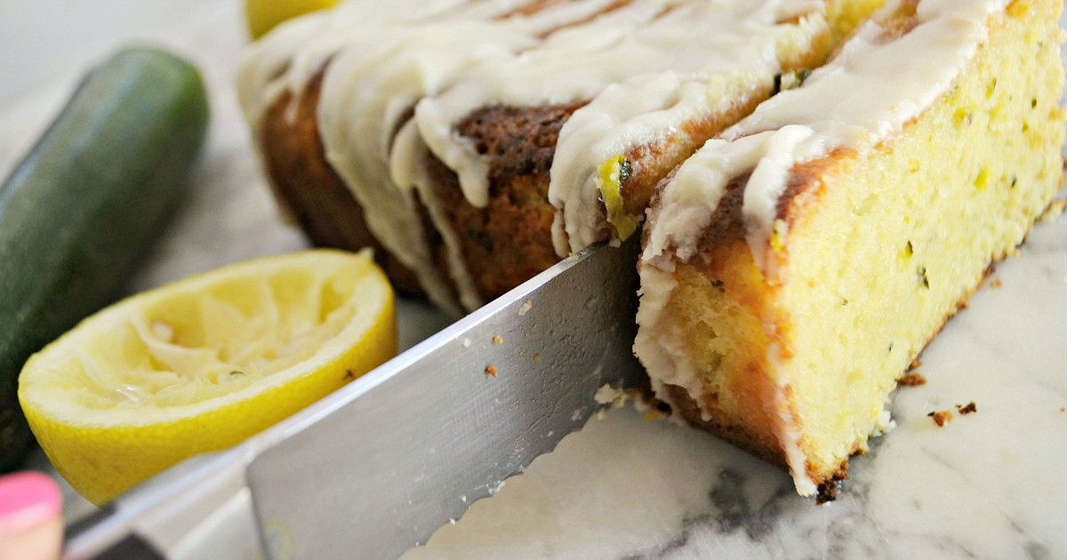 Keto Lemon Zucchini Bread