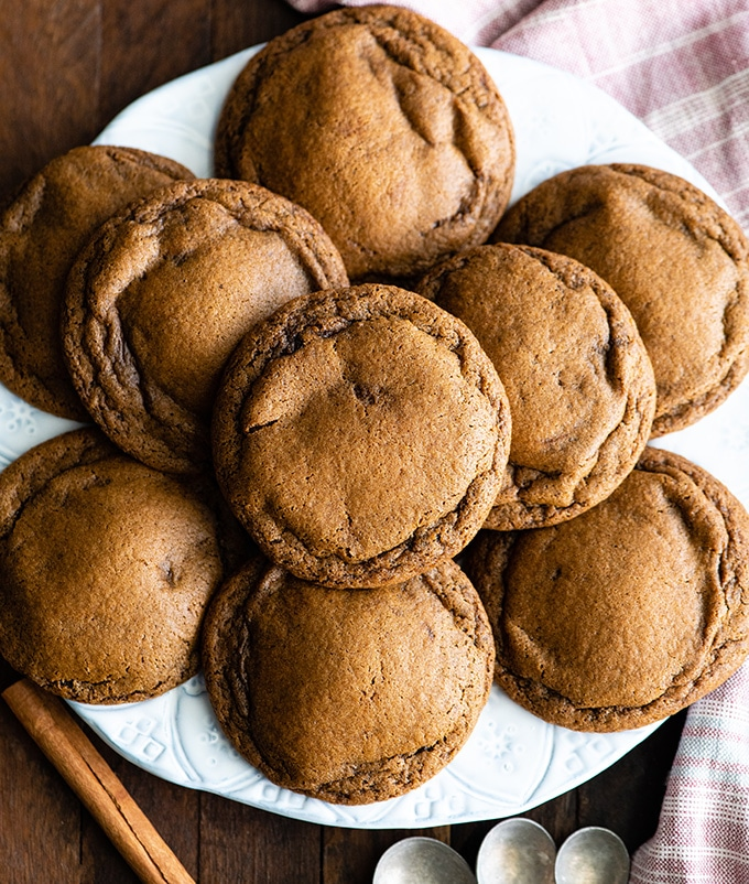 Best Soft Gingerbread Cookies