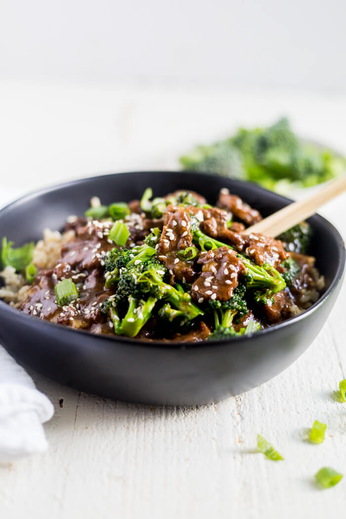 Healthy Instant Pot Mongolian Beef | What Molly Made