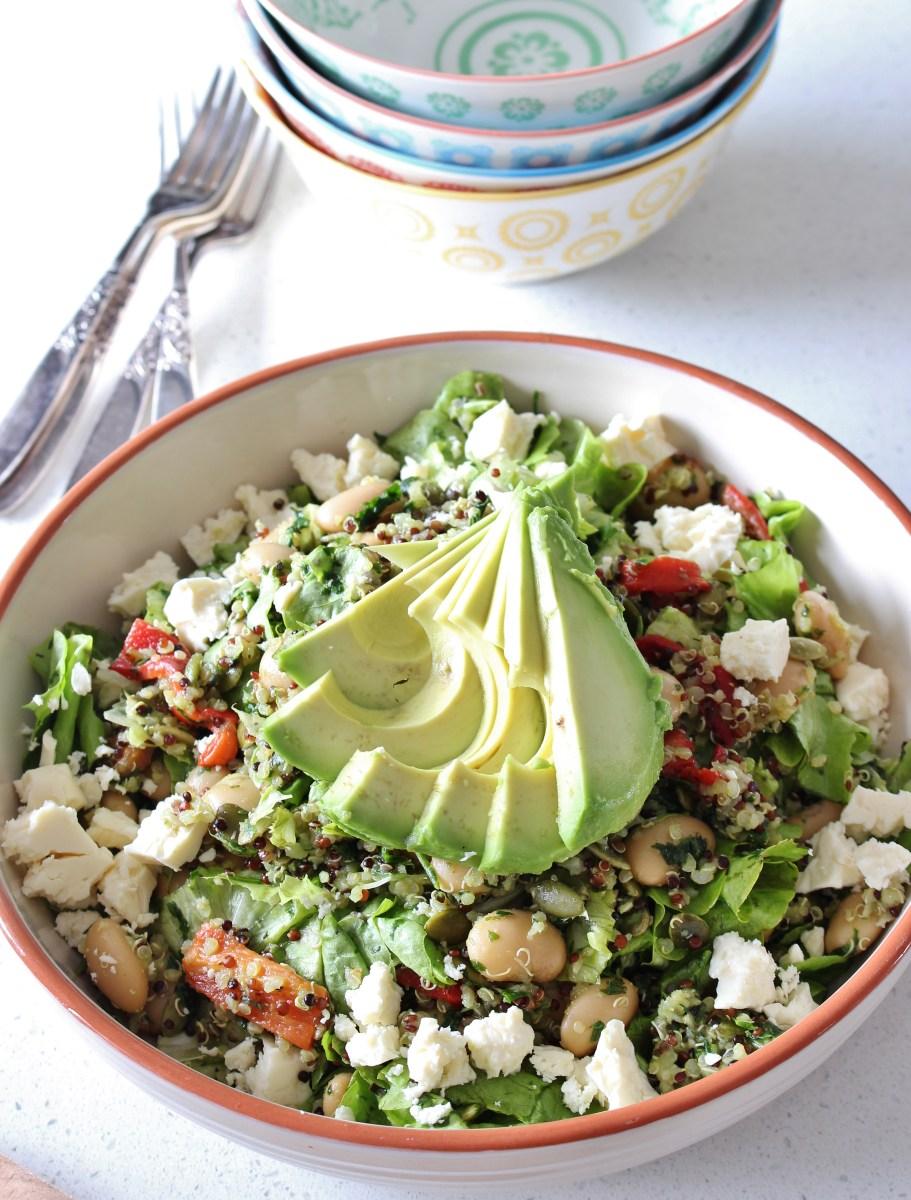 Chimichurri Quinoa Salad