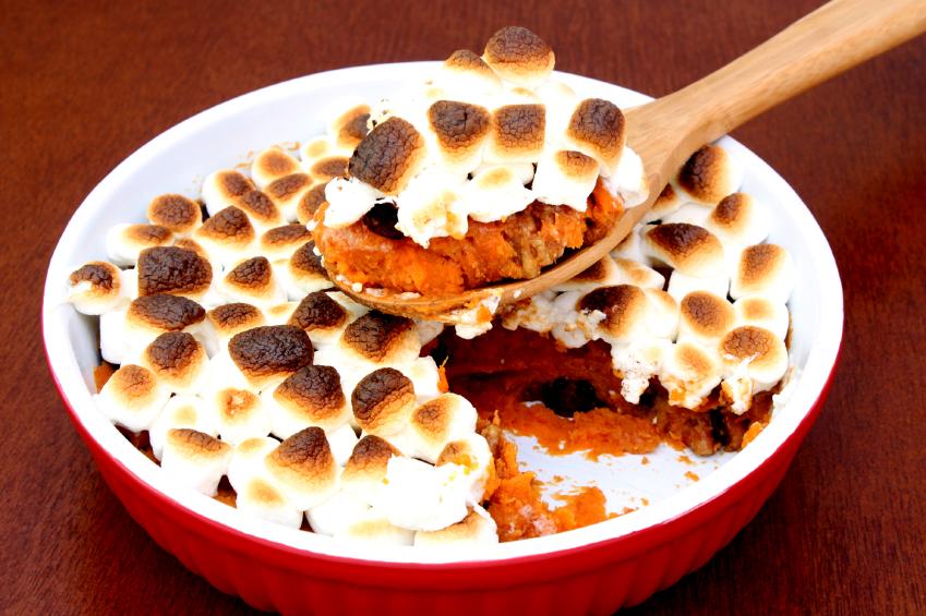 Mashed Sweet Potato Casserole