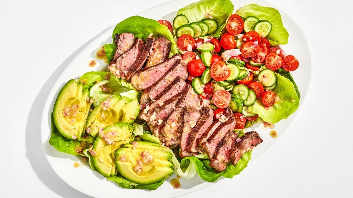 Steak Salad With Shallot Vinaigrette Recipe