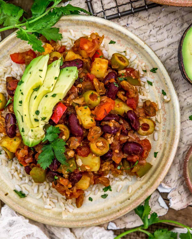 Vegan Cuban Picadillo - Monkey and Me Kitchen Adventures