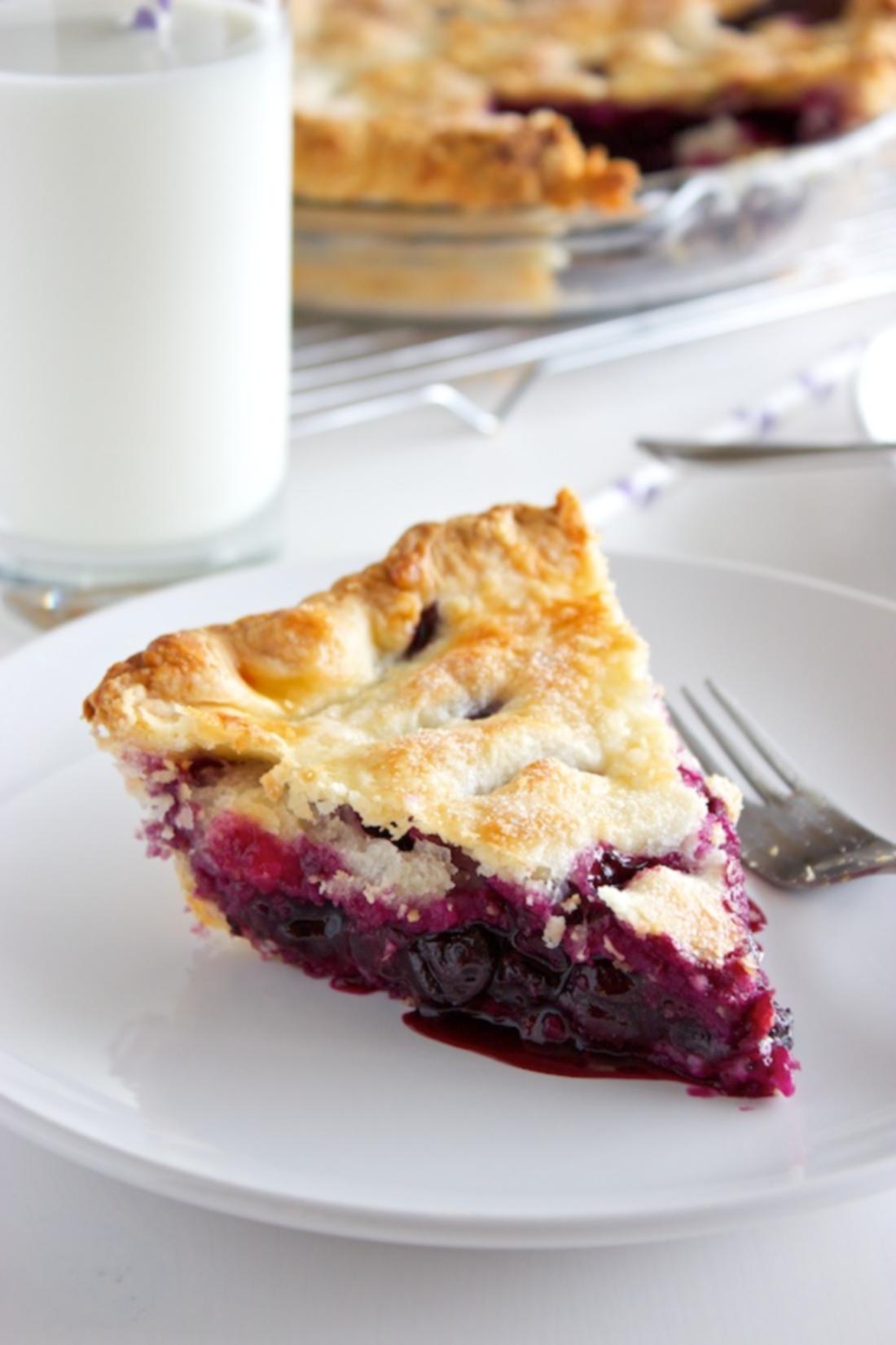 Blueberry Pie Recipe | Online Food Blogger