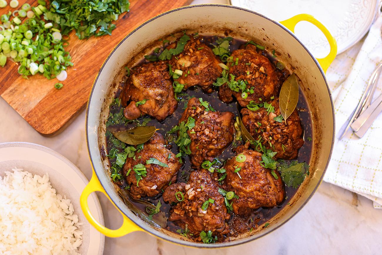 The Best Filipino Chicken Adobo Recipe