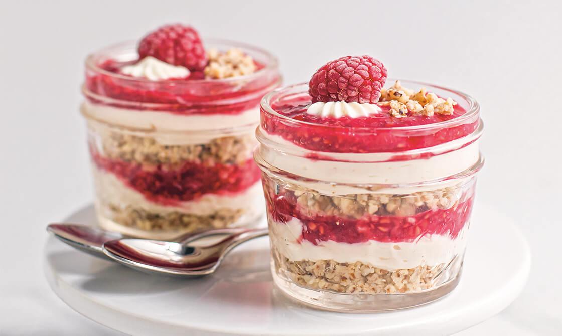 Raspberry Cheesecake Breakfast