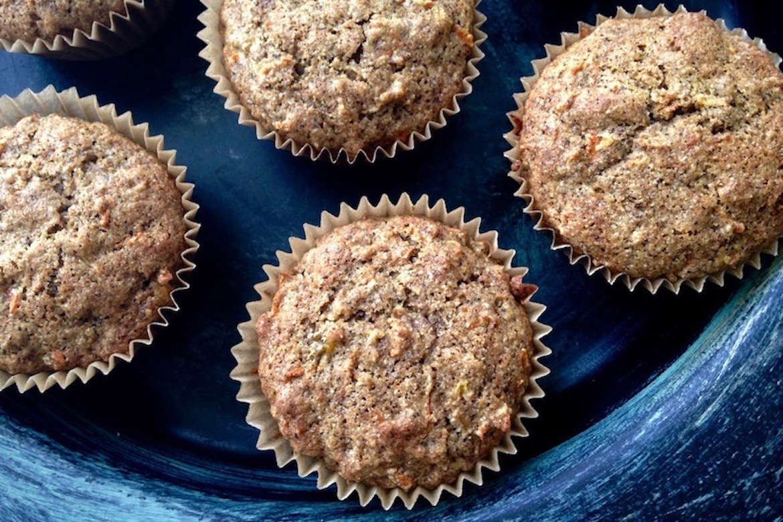 Muffins de sarrasin aux carottes - The Vert et Chocolat