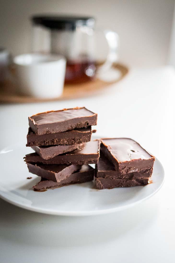 Keto Chocolate Fudge Recipe (Dairy-Free, Low Carb, Paleo)