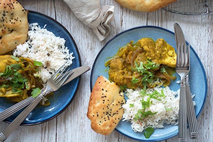 Indisk: Kylling Vindaloo