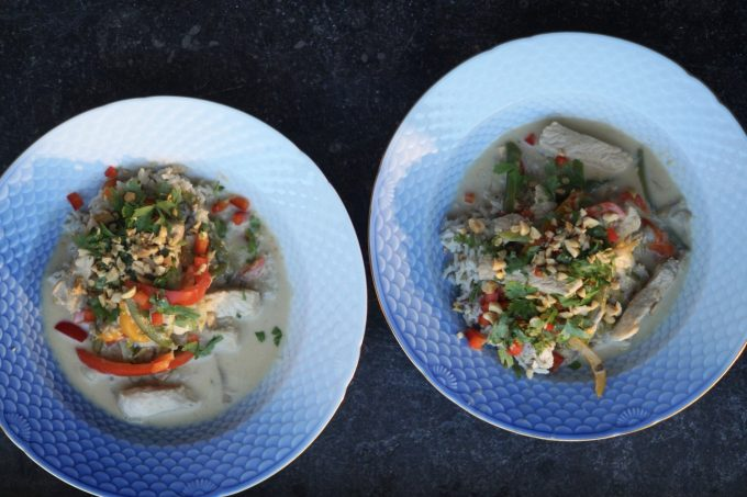 Thai: suppe Med Gris