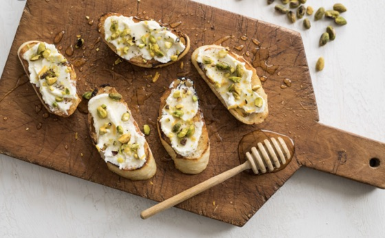 Toast Appetizer Ideas Honey Cheese - Google Search
