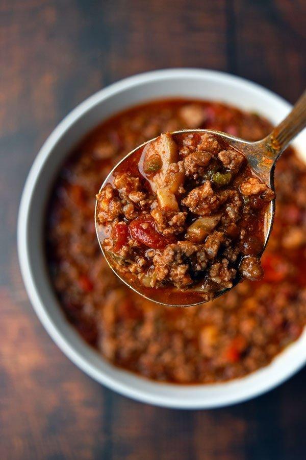 Instant Pot Chili con Canada - Low FODMAP, Paleo