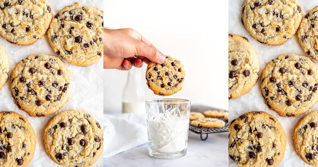 The Classic Keto Chocolate Chip Cookies