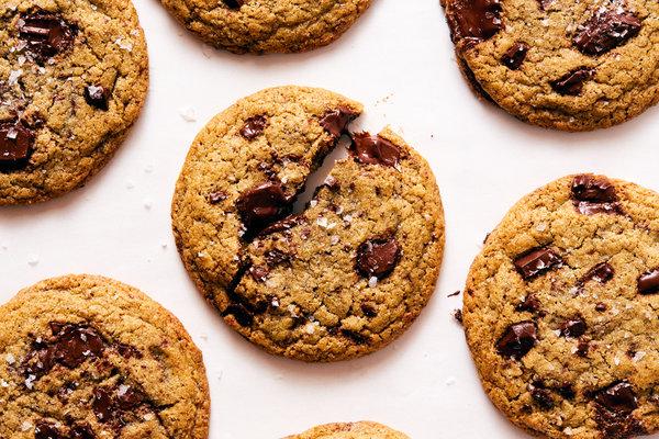 Rye Chocolate Chip Cookies Recipe