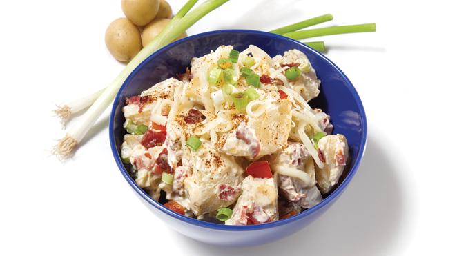 Salade De Pommes De Terre Bien Garnie