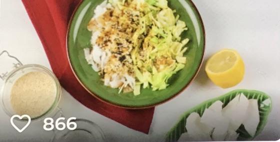 Healthy Coconut & Cabbage Salad