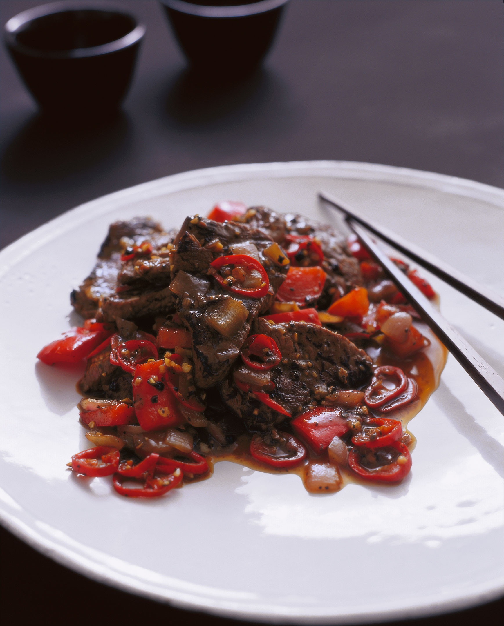 Black pepper beef - The Rockpool Files