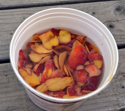 How To Make Homemade Peach And Other Fruit Vinegar | Seed To Pantry