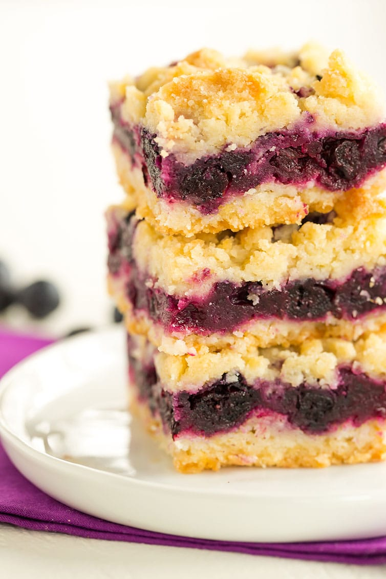 Spectacular blueberry crumb bars | Online Food Blog