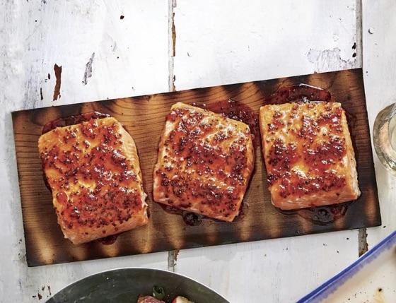 Salmon: Bbq Cedar Plank Salmon