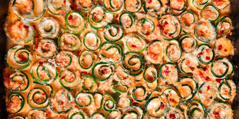 Zucchini Lasagna Roll-Ups Are Low-Carb Pasta Goals